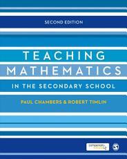 Teaching Mathematics in the Secondary School PDF