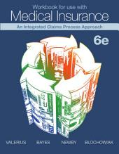 Workbook for Use with Medical Insurance: Sixth Edition