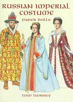 Russian Imperial Costume Paper Dolls PDF