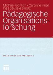 Pädagogische Organisationsforschung