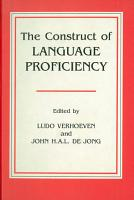 The Construct of Language Proficiency PDF