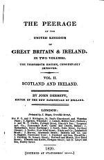 Debrett's Peerage of England, Scotland, and Ireland