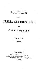 Istoria della Italia occidentale: Volumi 5-6