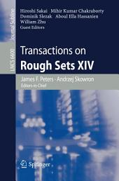 Transactions on Rough Sets XIV