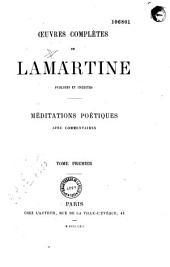 Oeuvres complètes de Lamartine, publiées et inédites...