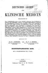 Archiv für klinische Medizin: Band 29