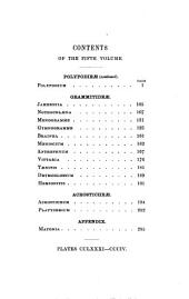 Species Filicum Being Descriptions of the Known Ferms, Particularly of Such as Exist in the Author's Herbarium....[etc.].: Polypodieae- Acrosticherae : plates CCLXXXI-CCCIV, Volume 5
