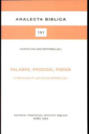 Palabra, prodigio, poesı́a