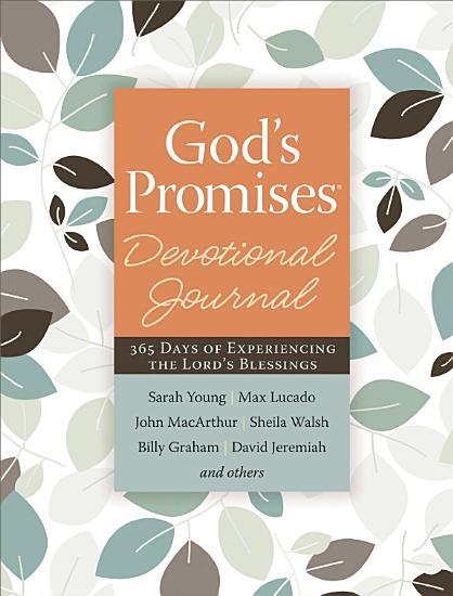 God s Promises Devotional Journal PDF