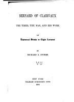 Bernard of Clairvaux PDF