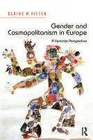 Gender and Cosmopolitanism in Europe PDF