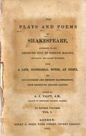 The Plays and Poems of Shakespeare: Life of Shakespeare. Dr. Johnson's preface. The tempest. Two gentlemen of Verona