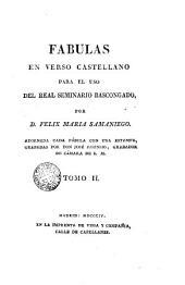 Fábulas en verso castellano para el uso de R. Seminario Bascongado, 2