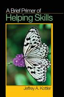 A Brief Primer of Helping Skills PDF