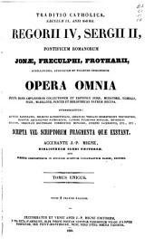 Patrologiae cursus completus ...: Series latina, Volume 106