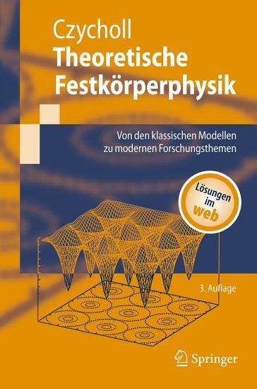 Theoretische Festk  rperphysik PDF