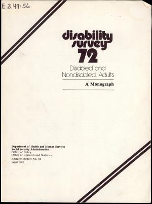 Disability Survey 72