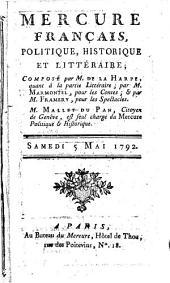 Mercure de France: 1792, 5