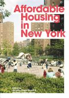 Affordable Housing in New York PDF