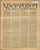Newspaperdom: Volume 8, Issue 14