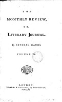 THE MONTHLY REVIEW  OR LITERARY JOURNAL  VOL  XV  JULY 1756 PDF