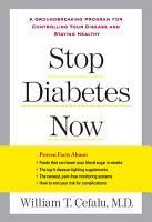 Stop Diabetes Now PDF