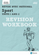 Revise BTEC National Sport Units 1 and 2 Revision Workbook PDF