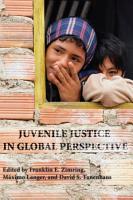 Juvenile Justice in Global Perspective PDF