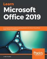 Learn Microsoft Office 2019 PDF