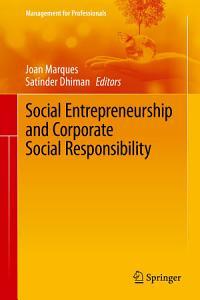 Social Entrepreneurship and Corporate Social Responsibility Book