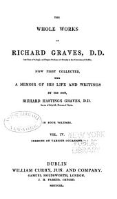 The Whole Works of Richard Graves: Volume 4