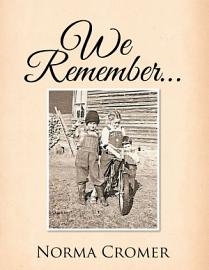 We Remember    PDF