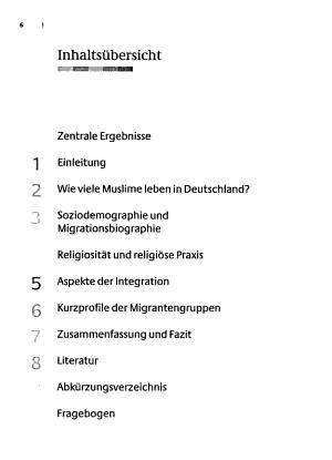 Muslimisches Leben in Deutschland PDF