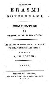 Commentarii de verborum ac rerum copia