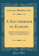 A Southerner in Europe