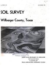 Soil Survey, Wilbarger County, Texas