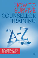 How to Survive Counsellor Training