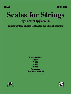 Scales for Strings  Bk 1  Cello