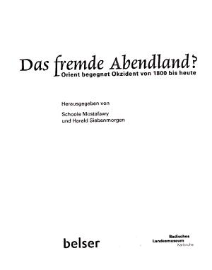 Das fremde Abendland  PDF