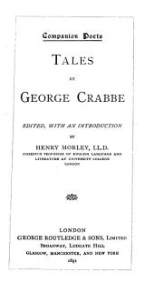 Tales by George Crabbe