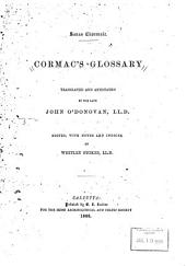 Cormac's glossary