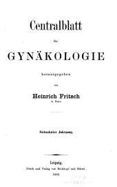 Centralblatt für gynäkologie: Band 17