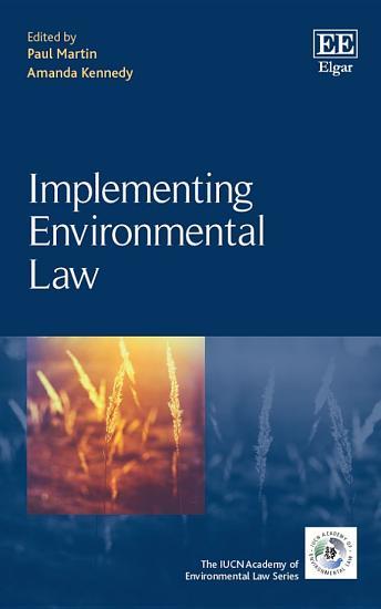 Implementing Environmental Law PDF