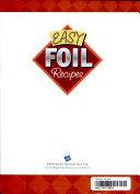 Easy Foil Recipes