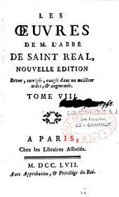 Les oeuvres de M. l'abbé de Saint-Réal