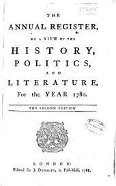 Annual Register: Volume 23