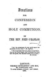 Devotions for Confession and Holy Communion