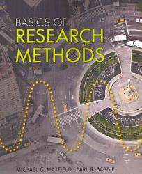 Basics Of Research Methods For Criminal Justice And Criminology Book PDF