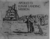 NASA Apollo 13 Lunar Landing Mission Manual