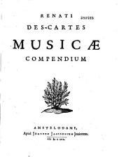 Renati Descartes Musicae compendium